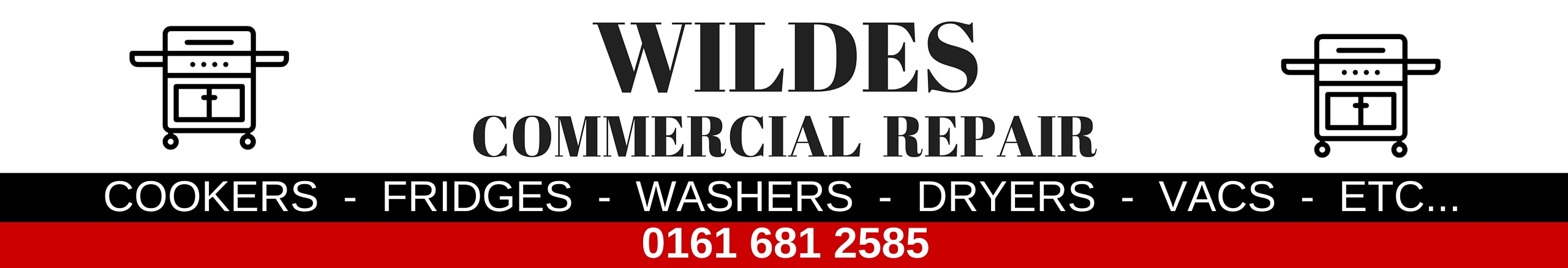 Commercial domestic appliance repair